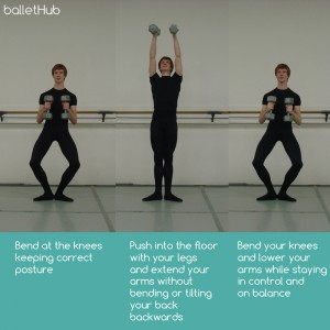 Exercises for male ballet dancers to increase strength