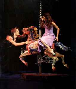 Sandra Brown performing in Carousel on Broadway