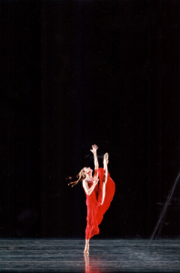 "Sandra Brown performing Martha Graham's ""Diversion of Angels."" Photo: Rosalie O'Connor"