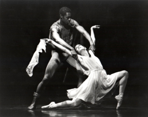 Sandra Brown & Desmond Richardson performing Othello