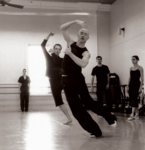 stephen mills choreographing ballet