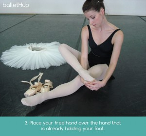 foot stretch for dancers increase flexibility
