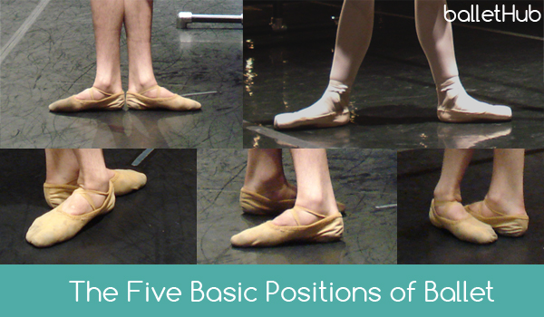 Fivepositions Featured on Ballerina Moves Diagram