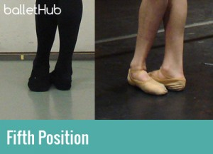 five basic ballet positions fifth position of feet