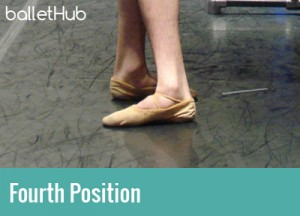 five basic classical ballet positions fourth position of the feet