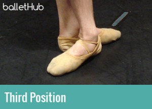 five basic ballet positions third position of feet
