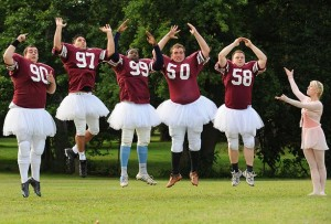 football players ballet