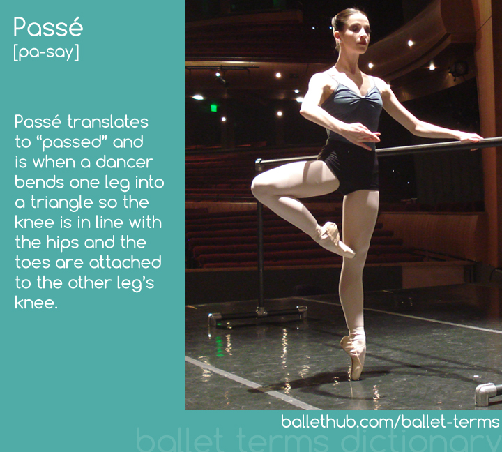 Caitlin Valentine-Ellis demonstrates passé at the barre