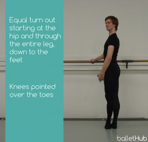proper fifth position in ballet