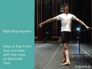 Fourth Position Basics in Classical Ballet Technique