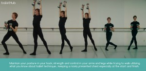 A great exercise to help male ballet dancers strengthen their partnering skills and gain muscle