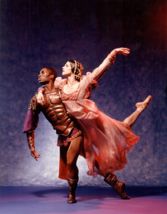 Sandra Brown & Desmond Richardson in Othello