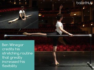 Stretching helps flexibility and can help ballet become easier
