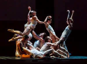 Artists of Ballet Austin performing Mills' Light / The Holocaust & Humanity Project