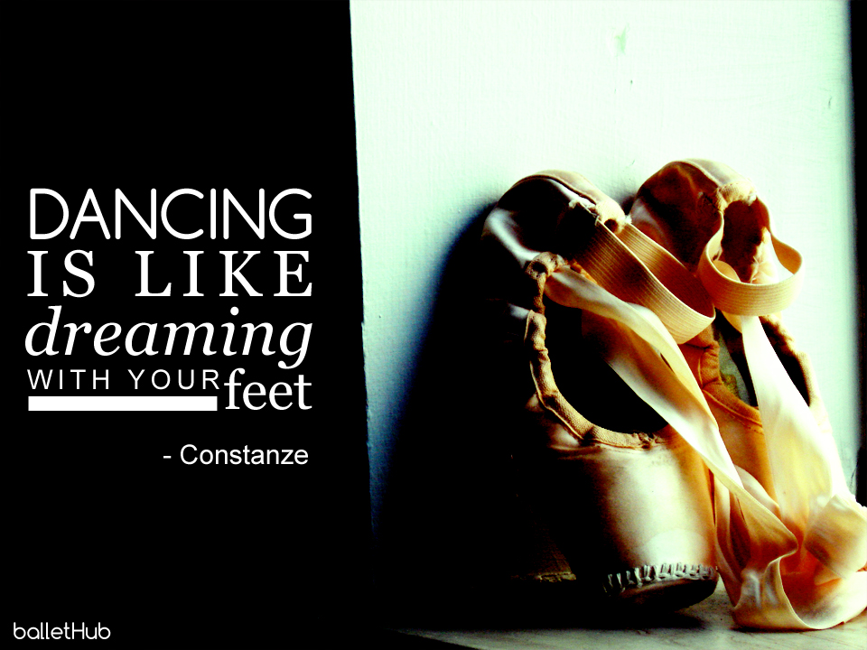 Dance is like… ballet quote