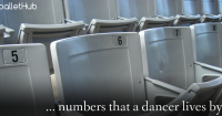 5678, numbers that a dancer lives by.
