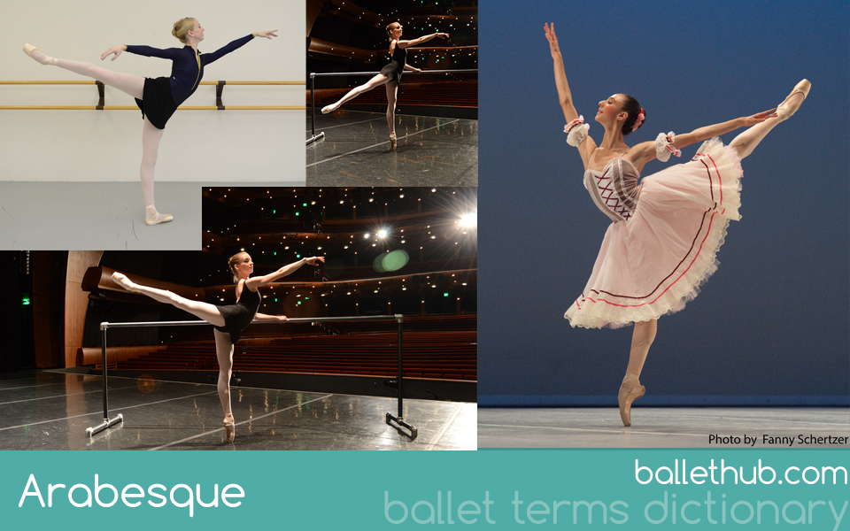 Arabesque ballet term definition