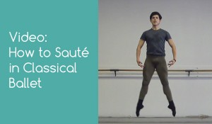 How to Sauté in Classical Ballet