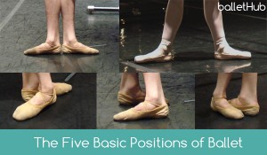 The Five Basic Positions of Ballet