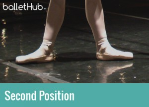 five basic positions of ballet second position of feet