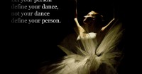 Let your person define your dance…