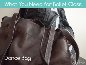 dance bag what you need for ballet class