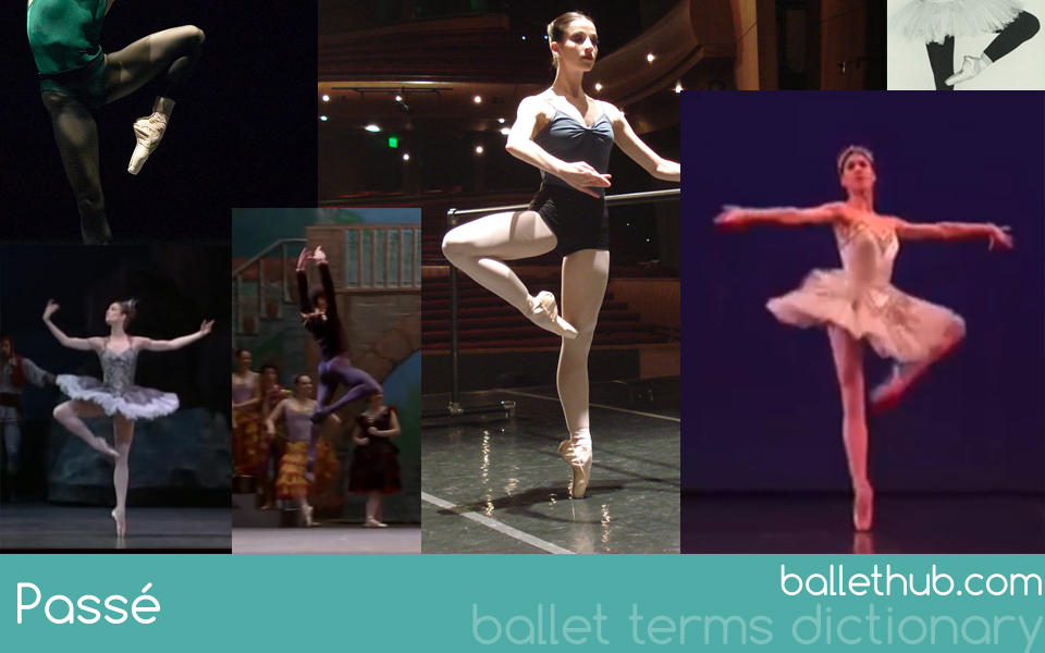 Passé ballet term definition