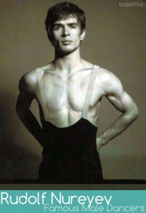 rudolf nureyev famous male ballet dancer