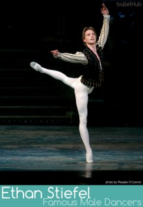 famous male ballet dancer ethan stiefel