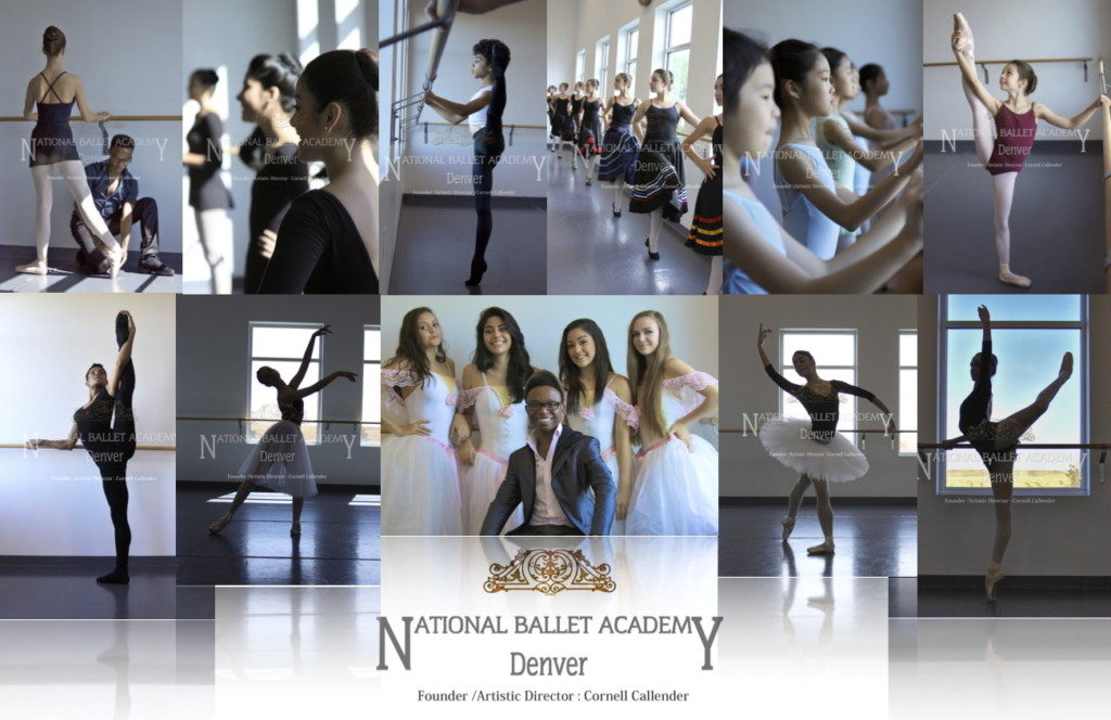 National Ballet Academy Denver Founder/Artistic Director Cornell Callender