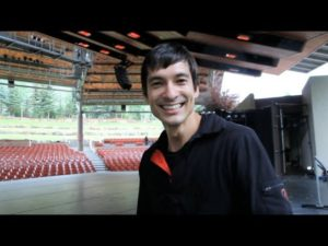 Backstage Tour with James Moore – Vail International Dance Festival 2013