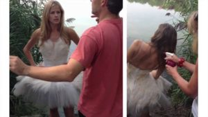 Behind the Scenes at the Swan Lake Photo Shoot