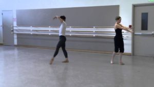 Choreographing for Trainees: Spinae
