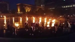 FBP students at WaterFire Providence – 7/26/2014