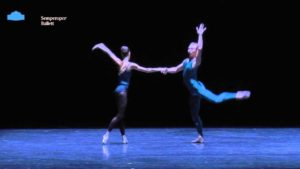 In the Middle, somewhat Elevated – Jete woman + Manuel Pas de Deux