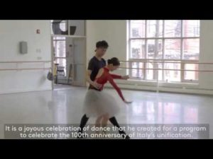 INSIDE LOOK | George Balanchine's Donizetti Variations