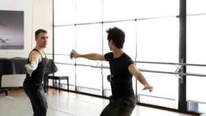 Inside the Studio: Fencing in Hamlet