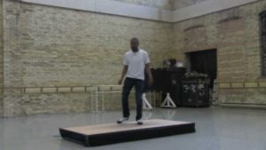"Marshall L. Davis, Jr.'s Warms Up for ""Spring Series"" Rehearsal"