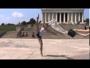 Members from The Washington Ballet's Ice Bucket Challenge