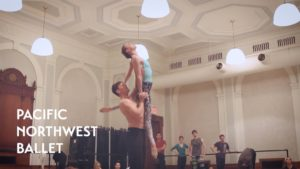 New York City Center Tour – Emergence rehearsal (Pacific Northwest Ballet)