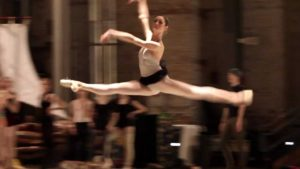 Pennsylvania Ballet – Warm-up and Rehearsal on Stage 2012