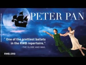 Peter Pan: May 4 to 8, 2016