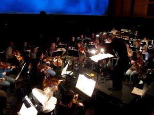 Peter Pan Orchestra Rehearsal #2