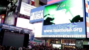 Pilobolus in Times Square for 100 Days to Sochi