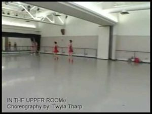 Pittsburgh Ballet Theatre Studio Rehearsal of Twyla Tharp's In the Upper Room