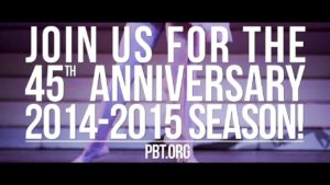 Pittsburgh Ballet Theatre Unveils its 2014-15 45th Anniversary Season