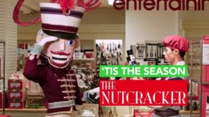 Pittsburgh Ballet Theatre's The Nutcracker visits Macy's in downtown Pittsburgh