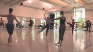 PNB Summer Course students on sharing the studio with Company members