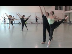 PNB's Square Dance rehearsal