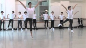 PNB's Summer Course 2010 – Men's Variation